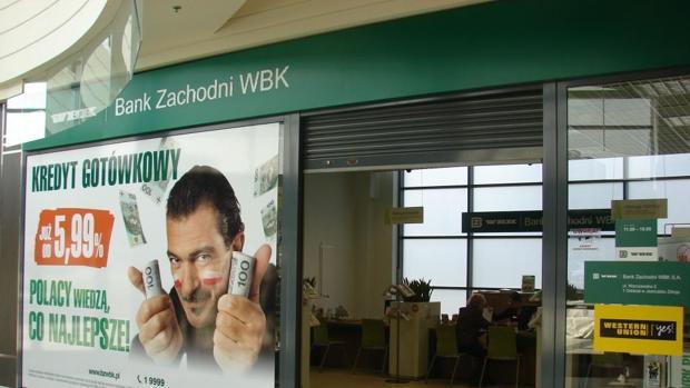 El Santander opera en Polonia con la marca Zachodni WBK