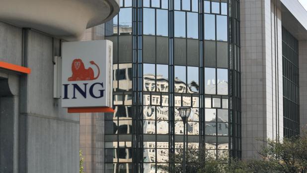 Imagen de una sucursal del banco ING
