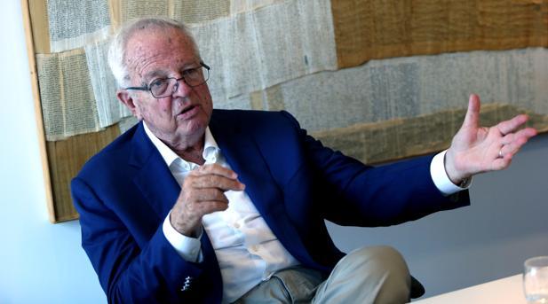 Enrique Loewe en un monento de la entrevista