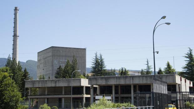 Imagen de la central de Garoña