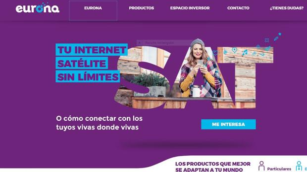 Página web de Eurona