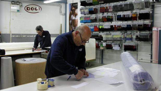 Los talleres de la empresa textil catalana Dogi
