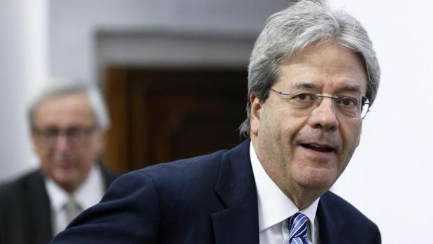 El primer ministro italiano, Paolo Gentiloni, en suintervención en el 15 Foro de diálogo Italia-España en Roma