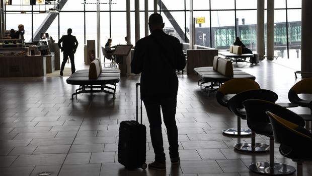 Imagen de la Terminal 1 del aeropuerto Saint Exupery, en Lyon