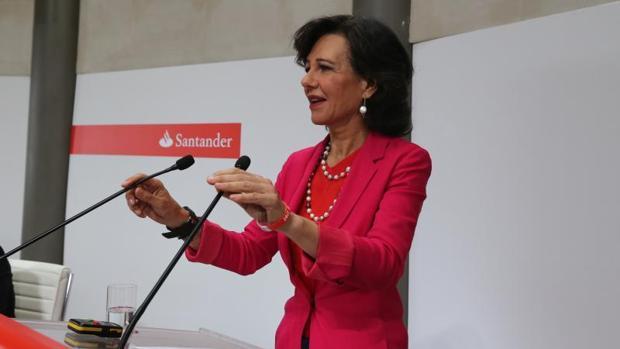 Ana Botín, en una imagen de archivo