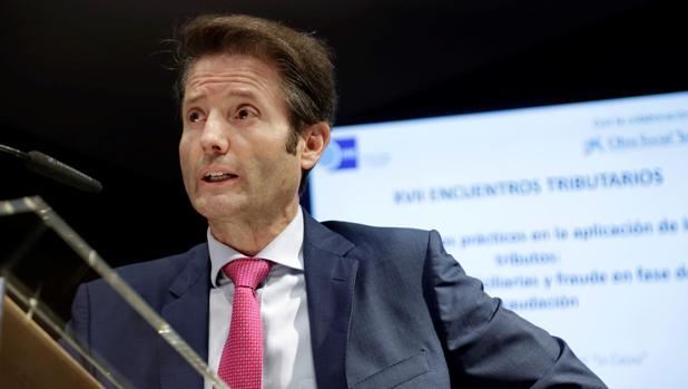 El presidente de la Asociación de Inspectores de Hacienda, José Luis Groba