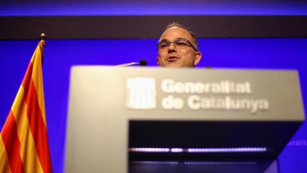 El portavoz del Govern, Jordi Turull