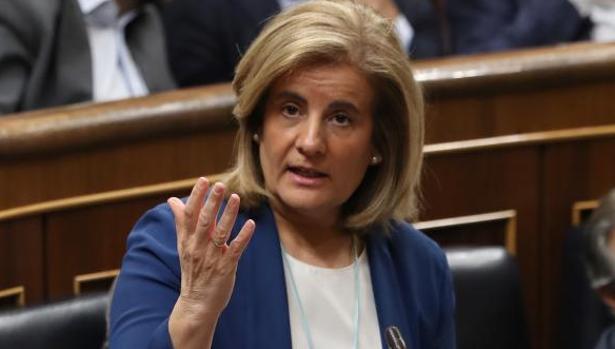 La ministra de Empleo, Fátima Báñez