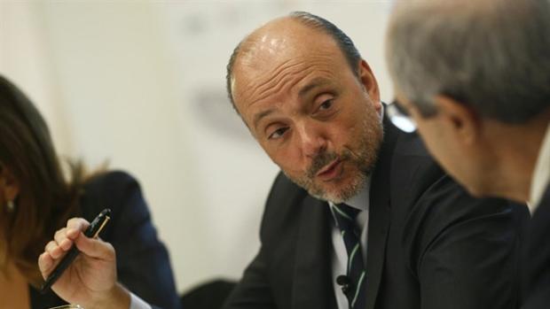 Javier Monzón, expresidente de Indra