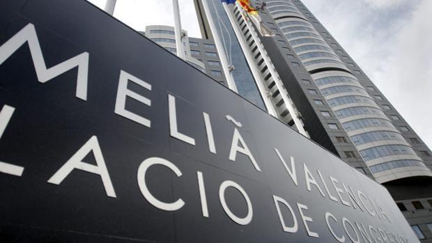 Hotel de Meliá en Valencia