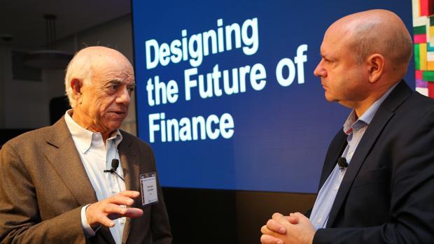 Francisco González, presidente del BBVA, en una jornadas sobre finanzas celebradas en San Francisco el pasado jueves