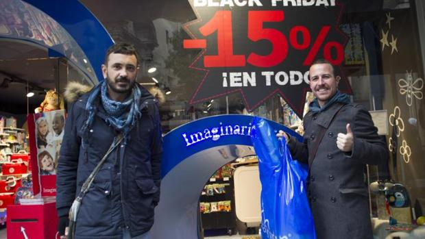 Compras durante el «Black Friday» del año pasado
