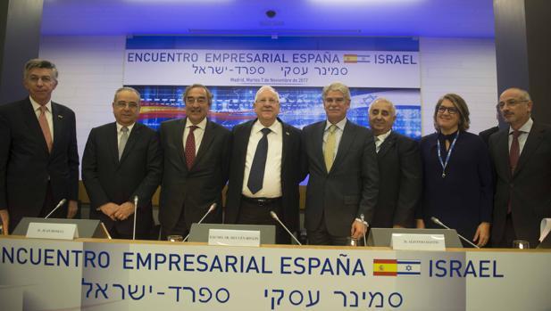 Foto de familia del encuentro de empresarios España e Israel