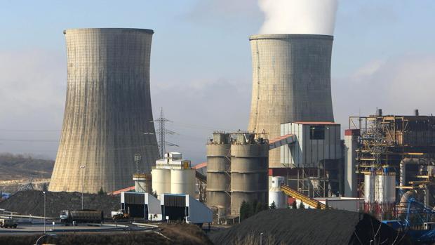 Central de carbón de Cubillos del Sil, en León