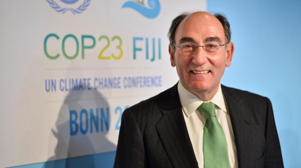 El presidente de Iberdrola, hoy, en la cumbre de Bonn