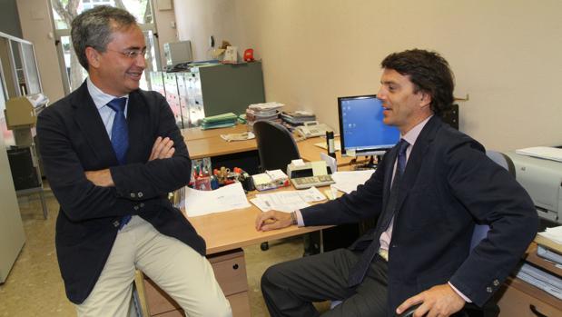 Miguel Rodríguez Guitart y Eduardo Fedriani