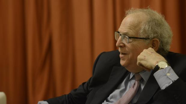 William R. Berkley, en un momento de la entrevista