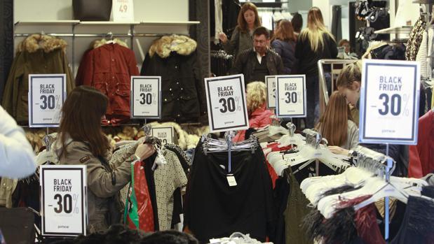Ofertas en ropa durante el «Black Friday» de 2016