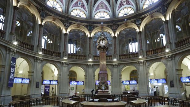 Imagen de la sede de la Bolsa de Madrid