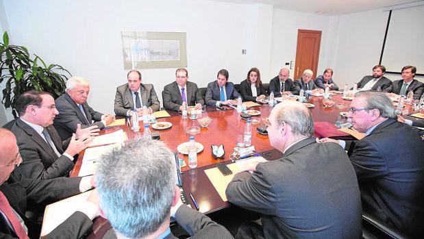 Garántia celebró ayer su primer consejo de administración en Granada