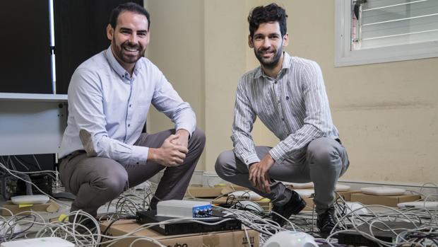 Jose González Garrido y Jose Antonio Delgado Alfonso, fundadores de Galgus