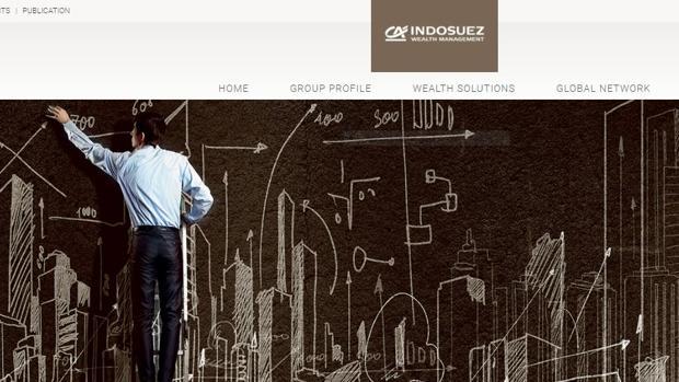 Página web de Indosuez