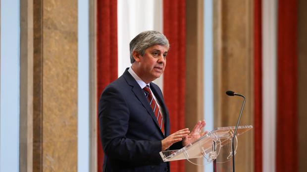 Mário Centeno, en una reciente comparecencia pública