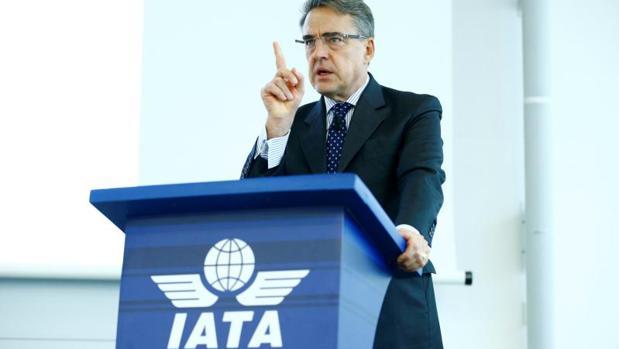 El director general y CEO de IATA, Alexandre de Juniac