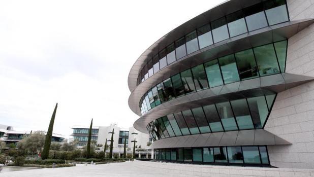 Ciudad Financiera del Banco de Santader, entidad que ha ganado 5.077 millones hasta septiembre de 2017