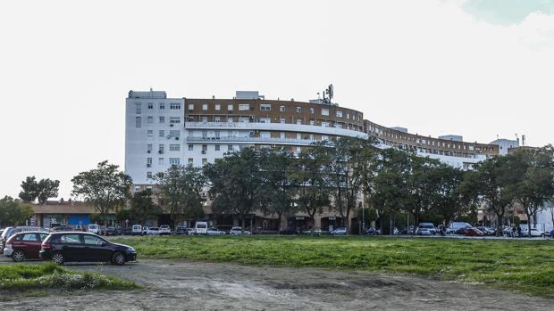 Bloque de viviendas en Sevilla Este