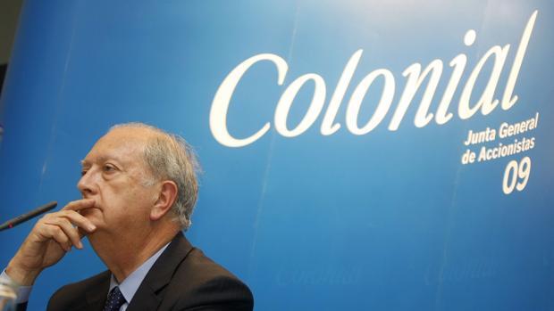 El presidente de Colonial, Juan José Brugera