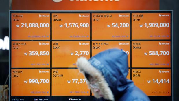 Los suculentos cambios que ofrecen las criptomonedas han alertado al Gobierno surcoreano