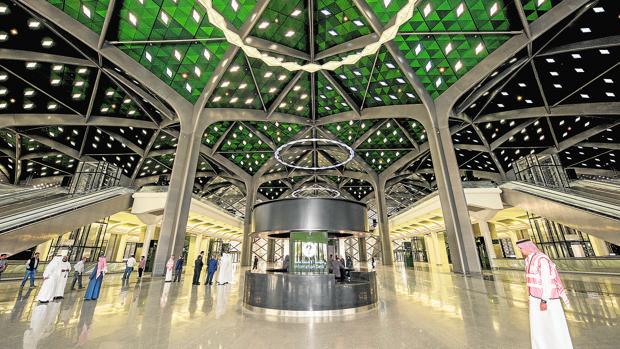 Estación de Medina, donde comienza la línea del AVE a La Meca