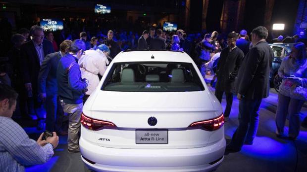 Presentación del Volkswagen Jetta R-Line en el Salón del Automóvil de Detroit