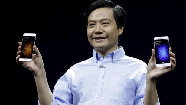El CEO de Xiaomin, Lei Jun