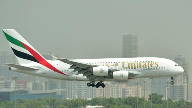 Airbus 380 de Emirates