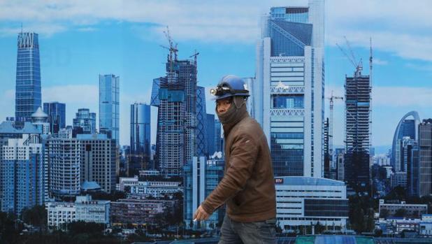 Obrero en Pekín
