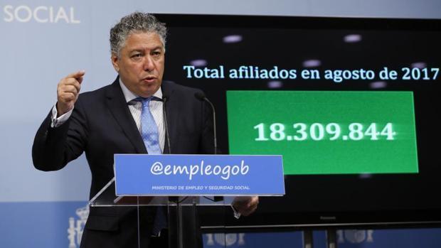 El secretario de Estado de Seguridad Social, Tomás Burgos, en una imagen de archivo
