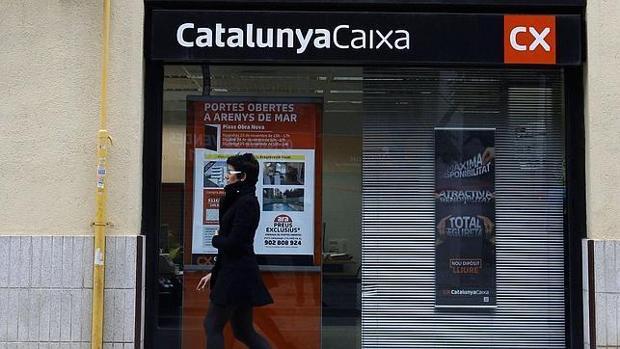 Imagen de archivo de una oficina de Catalunya Caixa