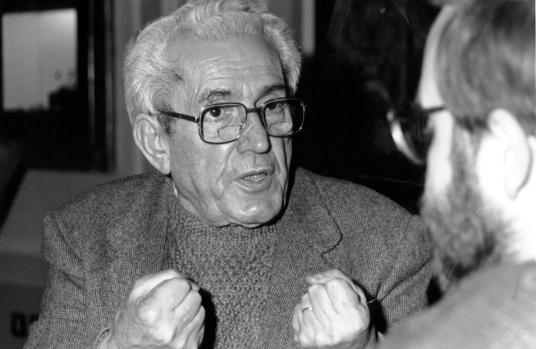 El histórico líder de Comisiones Obreras, en una imagen de 1988.