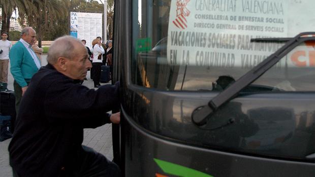 Imagen de archivo de un viaje para mayores en la Comunidad Valenciana