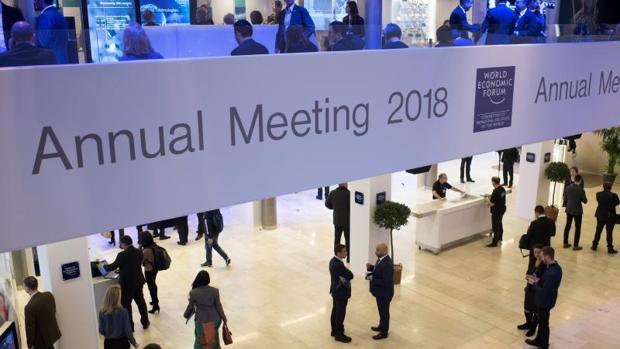 Inauguración del Foro de Davos