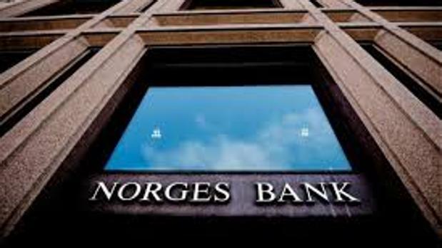 Oficinas de Norges Bank en Oslo