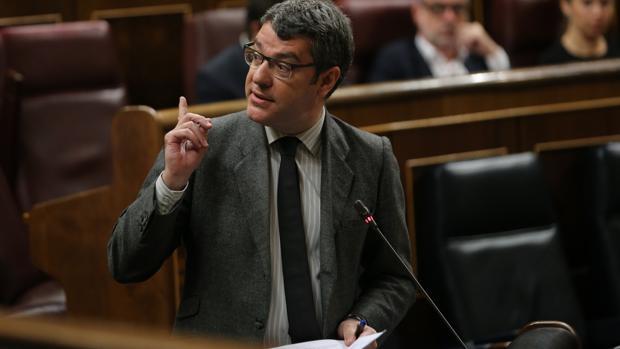 El ministro Álvaro Nadal, en una reciente intervención en el Congreso