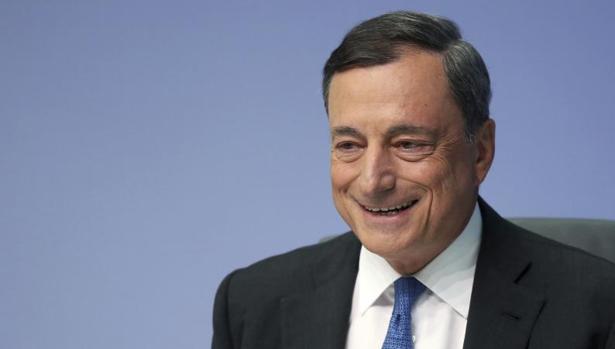 El presidente del BCEm, Mario Draghi