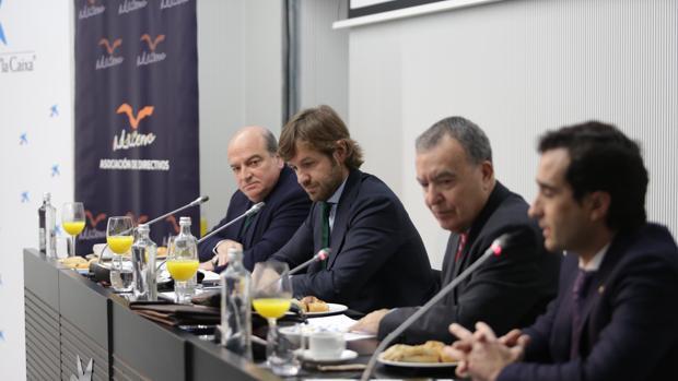 Rosauro Varo, en los desayunos de la asociación de directivos Adacem