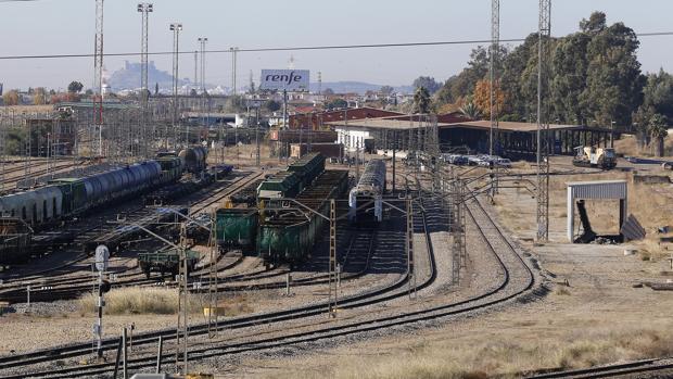 Estación de mercancías de El Higuerón, en Córdoba