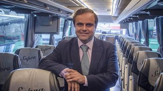 Valeriano Ruiz, director de Alsa en Andalucía