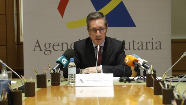 El director de la Agencia Tributaria, Santiago Menéndez