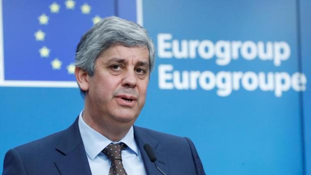 El ministro de Finanzas luso, Mario Centeno